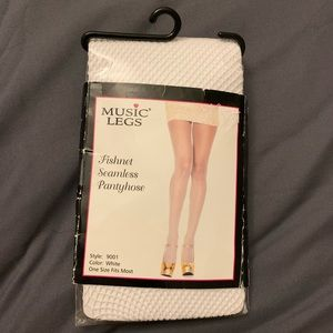 Music Legs Fishnet Seamless Pantyhose  💟